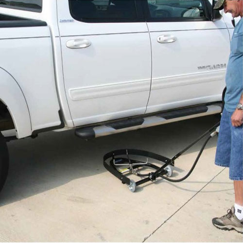 Undercarriage cleaner application in Edmonton