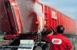 pressure washing truck