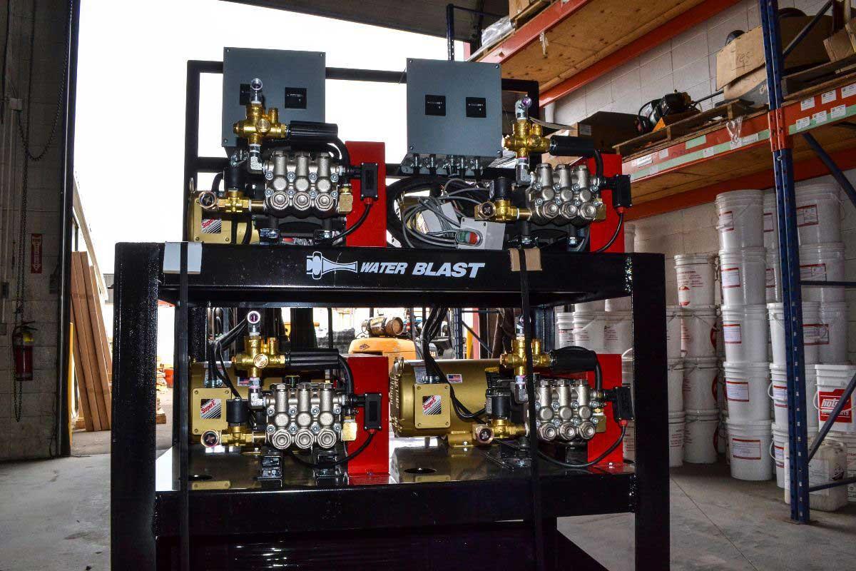 Wash bay systems HotsyAB