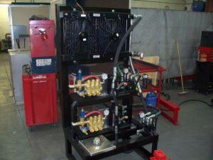 dual hydraulic pressure washer pump