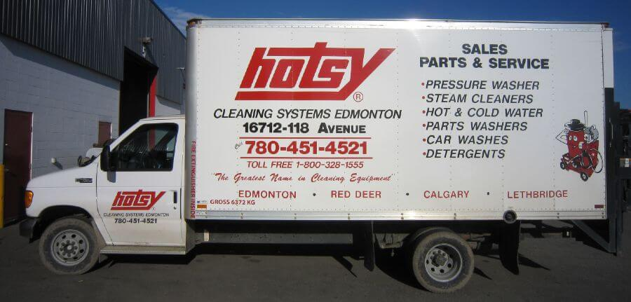 mobile services for pressure washer truck from HotsyAB