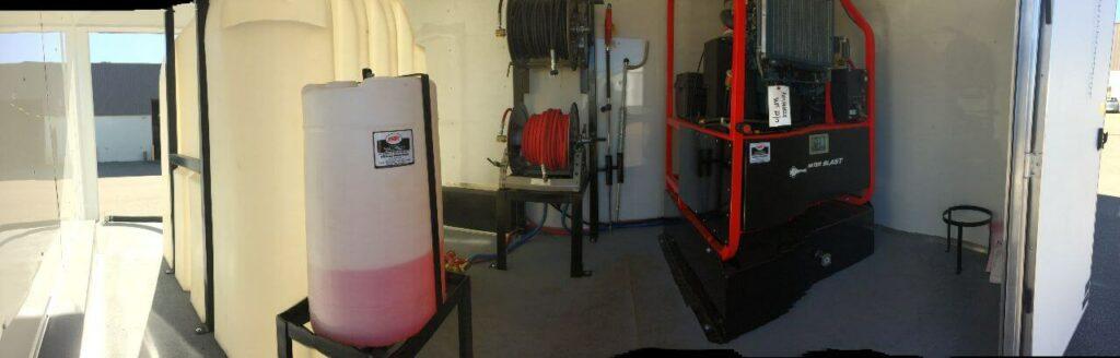 Hotsy AB trailer mounted pressure washer